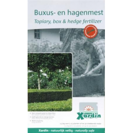Buxus en Hagenmeststof XARDIN