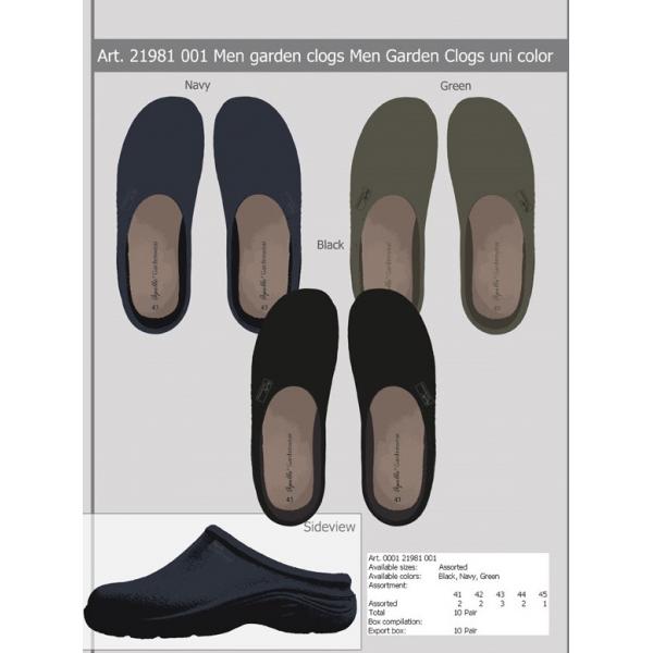 Import Heren Tuin Clog