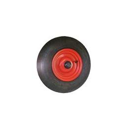 KRUIWAGENWIEL METAAL Zonder as met een 20 mm asgat