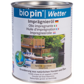 BIO PIN Natuur impregneerolie 0,75 liter