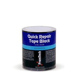 Premtech quick repair tape zwart