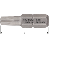 Rotec bit basic T40