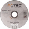 Rotec cutting disc 125 x 1,0mm